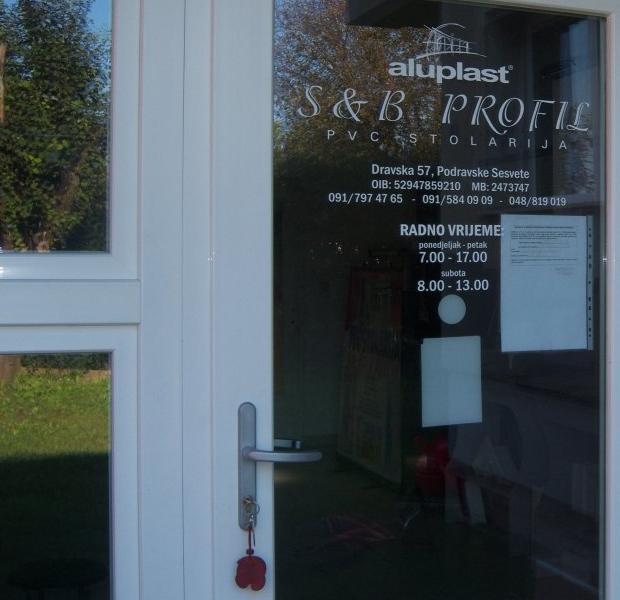 S & B PROFIL PVC STOLARIJA